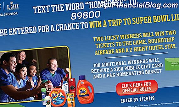 P&G - Super Bowl Sweepstakes (Istekao)