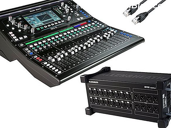 PSSL - Allen & Heath SQ-5 digitalni mešalnik Giveaway